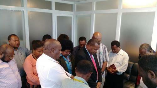 Caption-Pr-Rex-Koi2nd-from-left-offers-dedicatory-prayer-over-Koney-Samuel-centre-with-his-staff