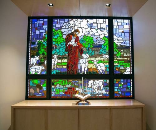 Prayer Chapel Stained Glass
